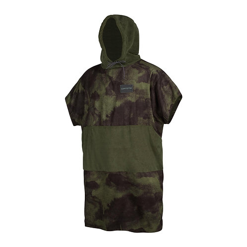 Poncho All Over Brave Green