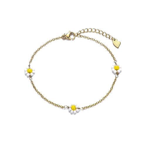 Daisy Bracelet Gold