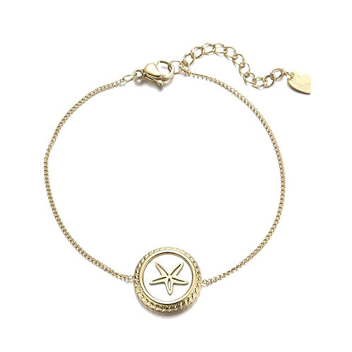 Starfish Bracelet Gold