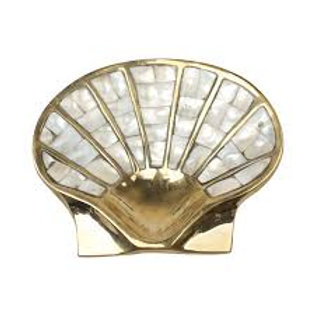 Shell Bowl With Mother Of Pearl