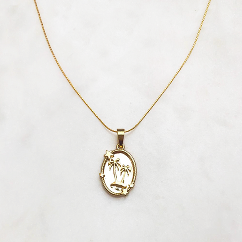 Necklace Palmcoin By☆Nouck