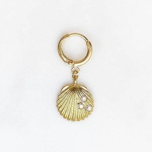 Earring Opal Shell By☆Nouck