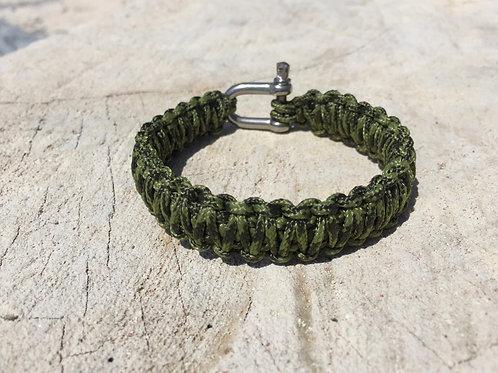 Paracord bracelet - Army Camo
