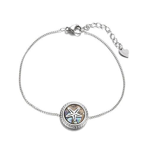 Starfish Bracelet Silver