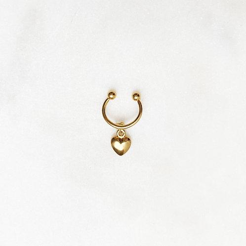 Ear Cuff Golden Heart By☆Nouck