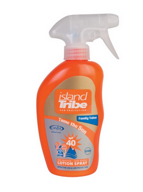 Island Tribe SPF 40 Light Lotion Spray 300ml