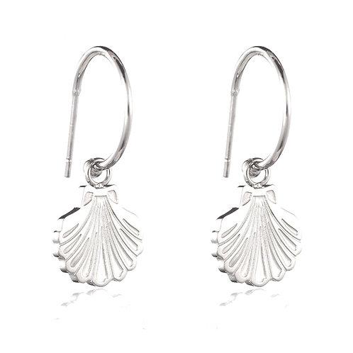 Shell Earrings Silver