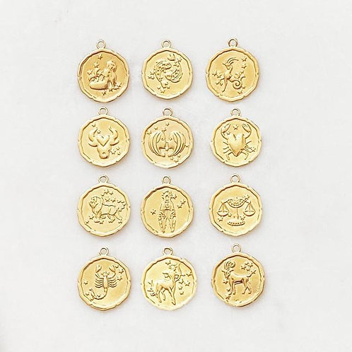 Fine Chain Zodiac Signs  By☆Nouck