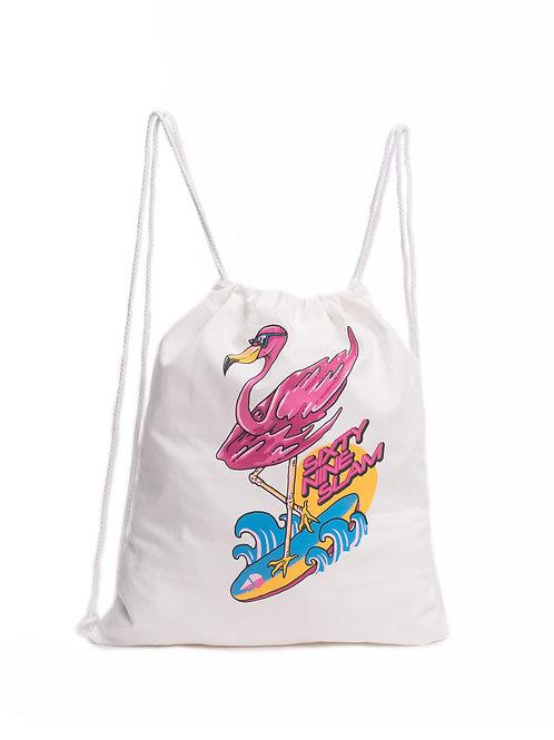 Flamingo Bag White