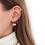 Thumbnail: Thin Earring Pink Hart By☆Nouck