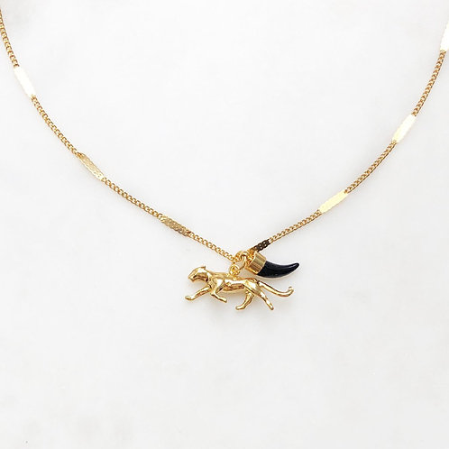 Signet Necklace Leopard By☆Nouck