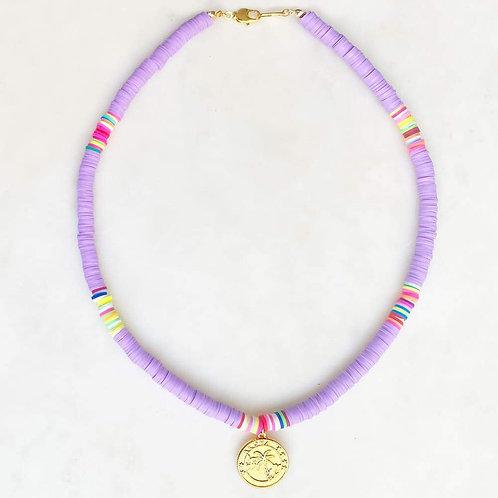 Surf Necklace Lilac Aloha By☆Nouck