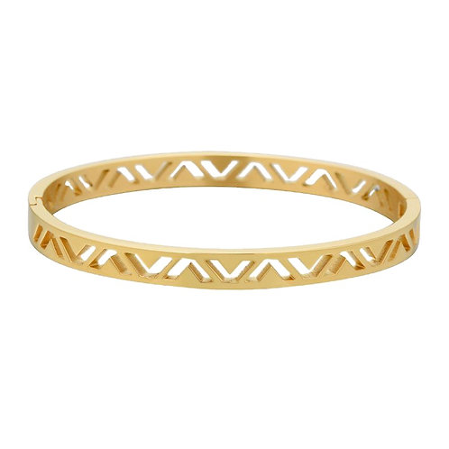 Cleo Bangle  Gold