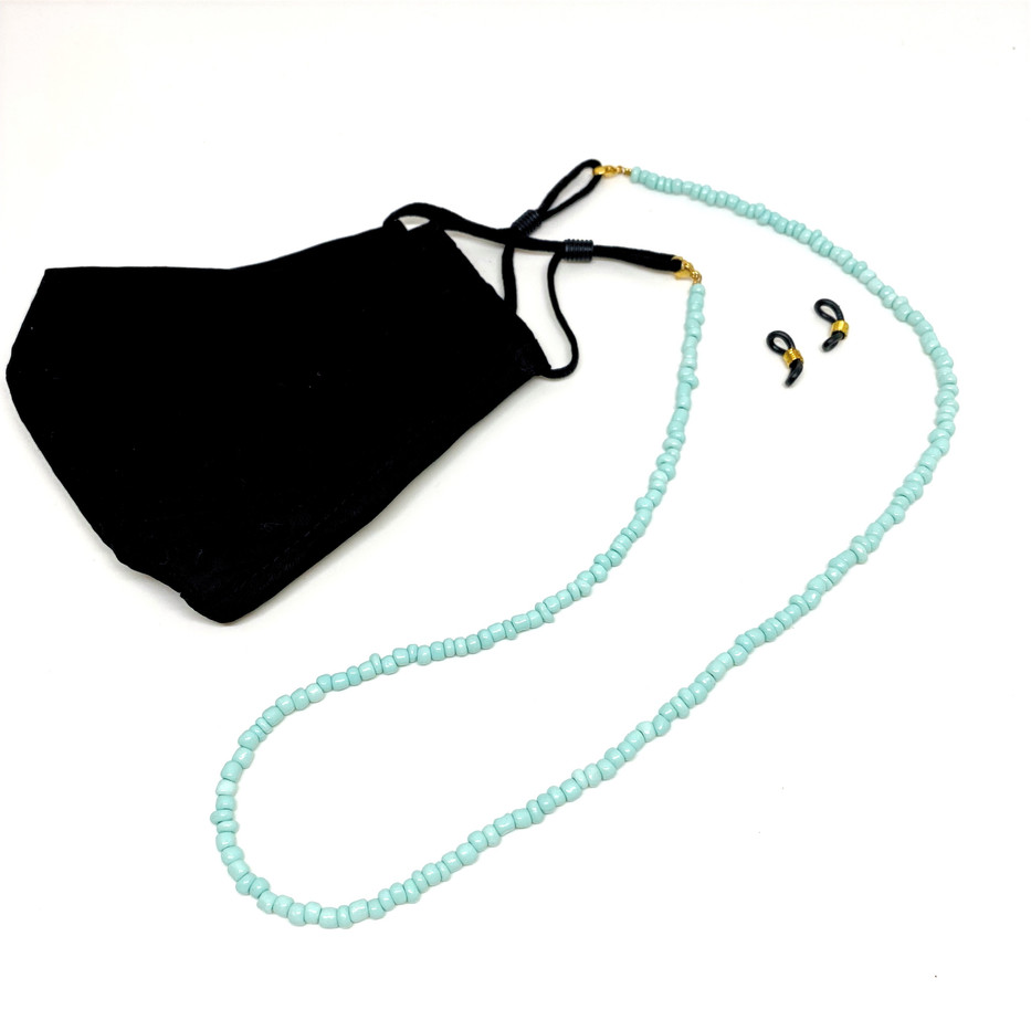 Facemask and Sunglasses cord in one