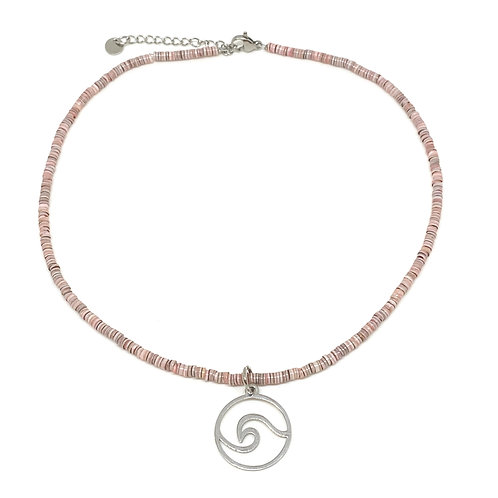 Choker Shell Beads With Wave