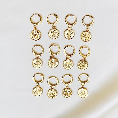 Earring Mini Zodiac By☆Nouck