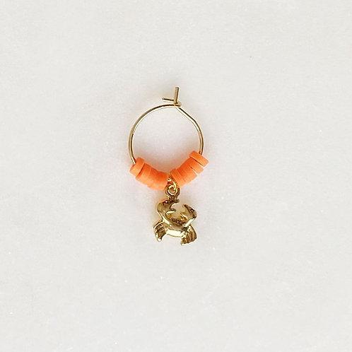 Surf Earring Crabby Orange By☆Nouck