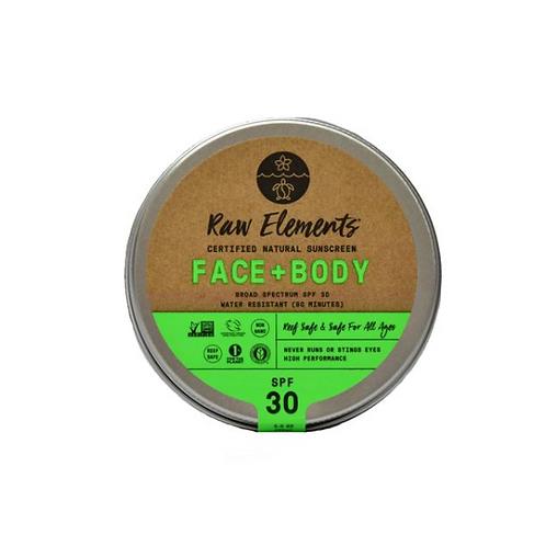 FACE + BODY TIN SPF 30 *PLASTIC FREE*