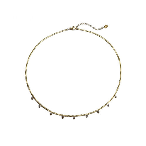 Rounds Necklace Gold