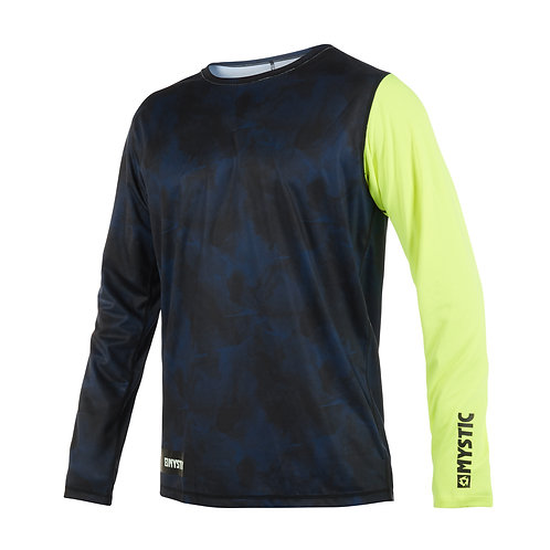Majestic L/S Quickdry Lime
