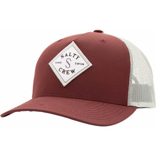 Sea Line Retro Trucker Burgundy
