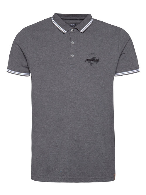 Ted Polo Dark Grey Melee