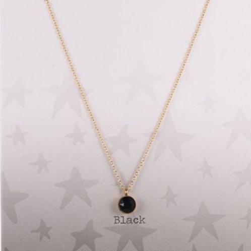 Wishdom Necklace Black / Gold