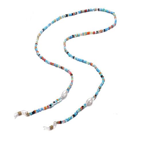 Sunglasses cord Pearl Blue