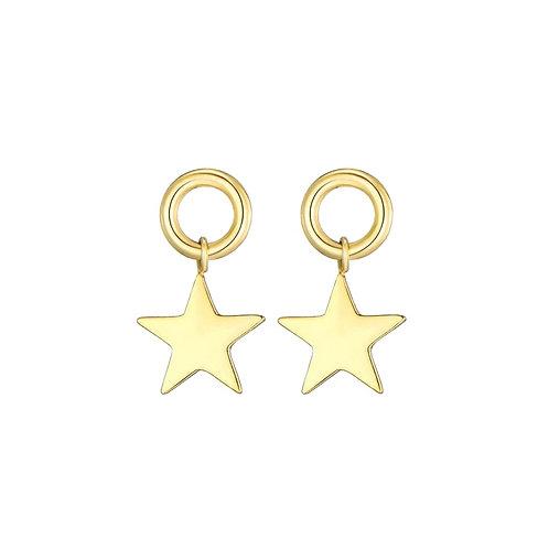 Earpin Star Gold