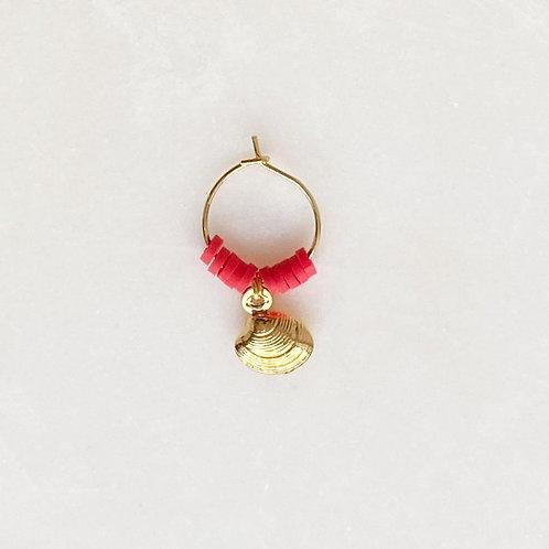 Surf Earring Red Venus By☆Nouck