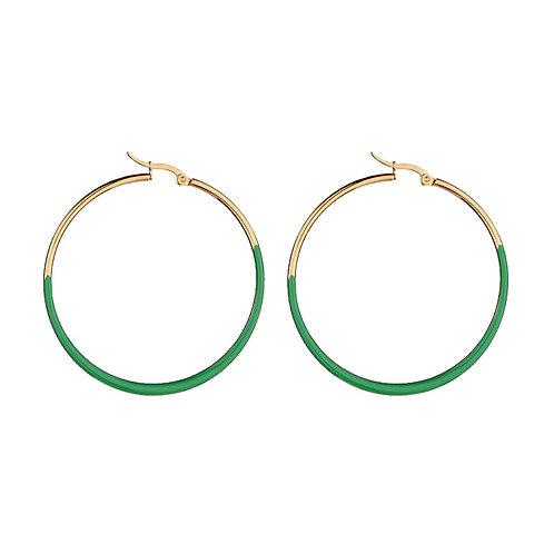 Hoops Green / Gold