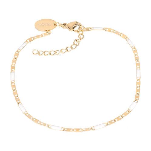 Bracelets Curacao (white)18+3