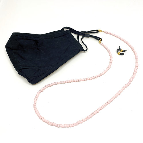 Cord Facemask/Sunglasses Soft Pink