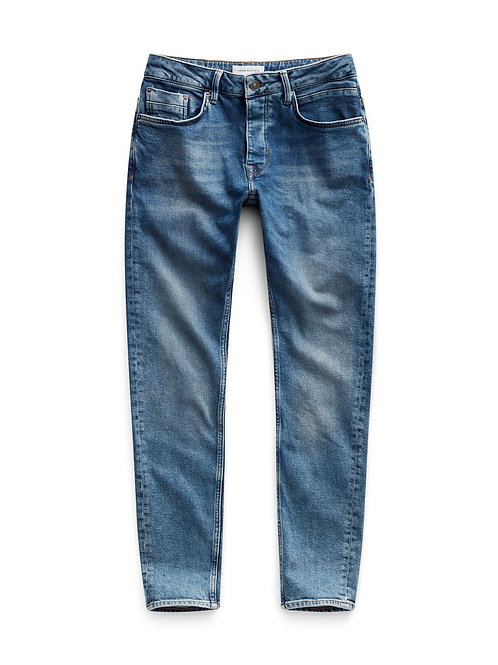 Beach Tapered Jeans Used Blue