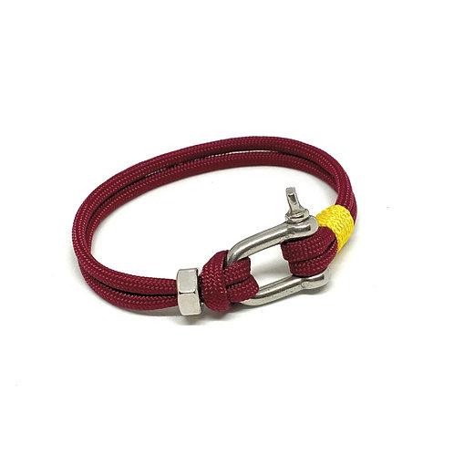 Burgundy Simple Bracelet