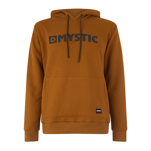 Brand Hood Sweat Golden Brown