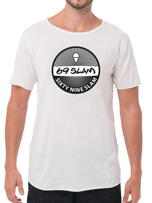 69 Slam Vintage Tee White