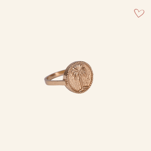 Signet Ring Palm Tree