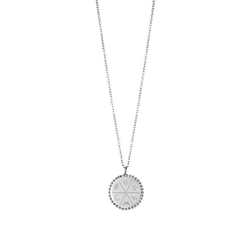Elements Necklace Silver