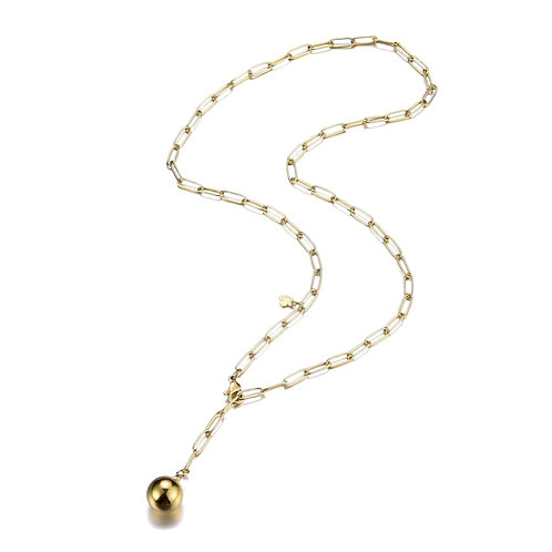 Ball Necklace Gold