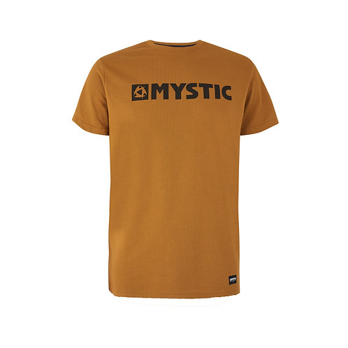 Brand Tee Golden Brown