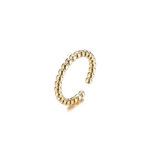 Dot Ring Plain Gold