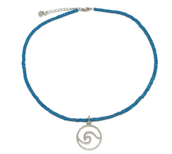 Choker shell with wave