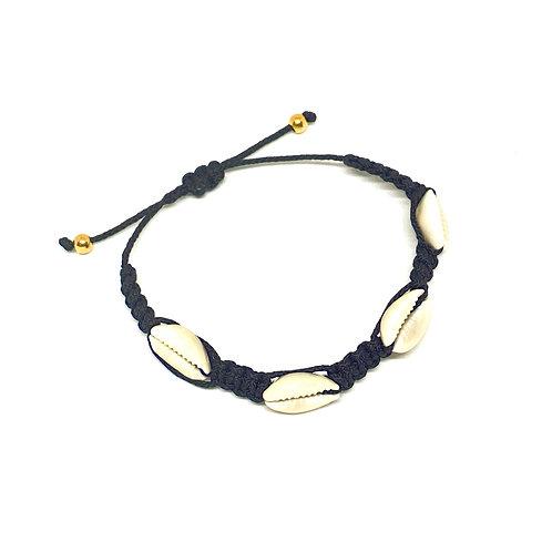 Bracelet Braided 4 Shells