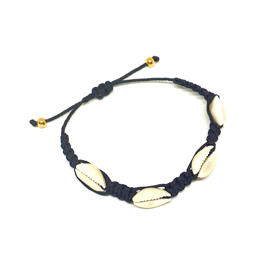 Braided Bracelet With Shells