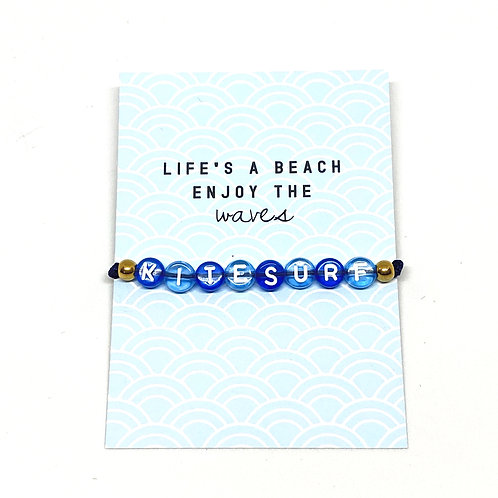 Life's A Beach Bracelet With Giftcard