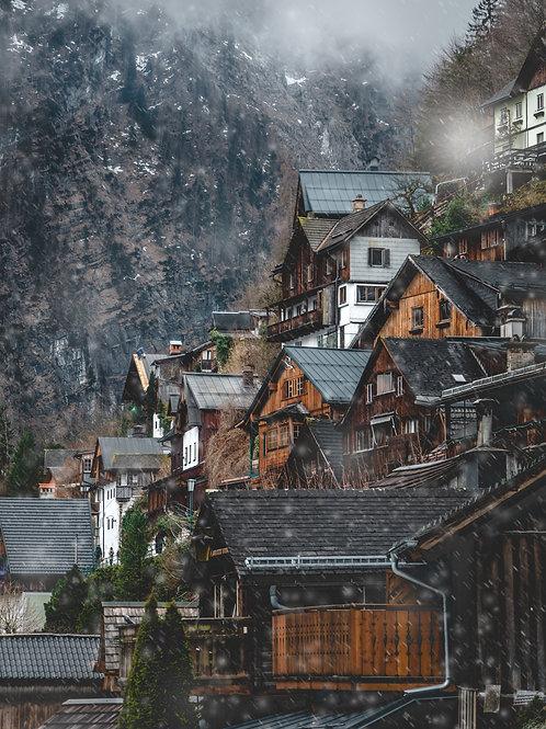 Hallstatt Snow