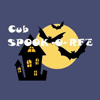 Cub Spookoree Session 2, 10/30-31
