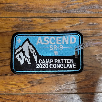 2020 SR-9 Conclave Luggage Tag
