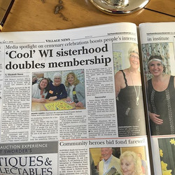 Great article in Herts and Essex Observer
